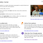 Google Family Safety Centre