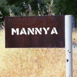 Mannya sign